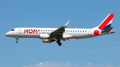 F-HBLI - Embraer 190-100STD - HOP! for Air France
