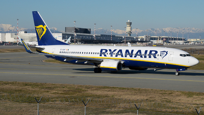 A picture of EIDAP - Boeing 7378AS - Ryanair - © paoloz99