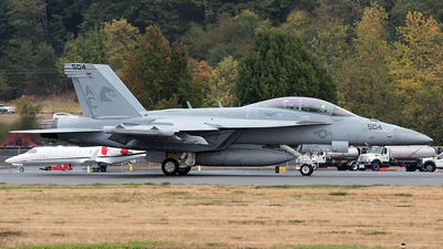 168255 - Boeing EA-18G Growler  - United States - US Navy (USN)