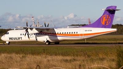 VH-FVH - ATR 72-212A(500) - Hevilift Australia