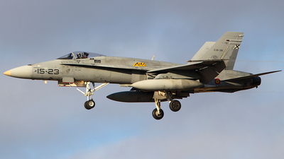 C.15-36 - McDonnell Douglas EF-18A+ Hornet - Spain - Air Force