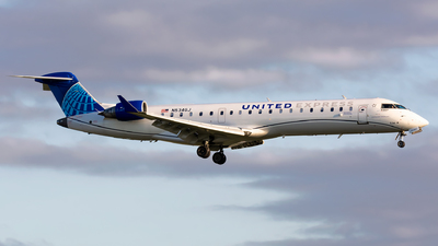 A picture of N534GJ - Mitsubishi CRJ550 - United Airlines - © Kevin Cargo