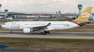 5A-LAS - Airbus A330-202 - Libyan Airlines