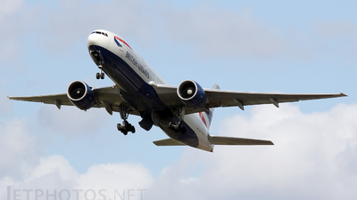 G-VIIY - Boeing 777-236(ER) - British Airways