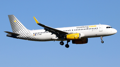A picture of ECMBS - Airbus A320232 - Vueling - © Javier Rodriguez - Amics de Son Sant Joan