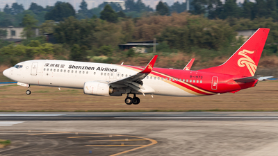 A picture of B1973 - Boeing 73787L - Shenzhen Airlines - © ShirokaneRinko