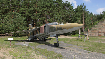 20-57 - Mikoyan-Gurevich MiG-23U Flogger C - German Democratic Republic - Air Force