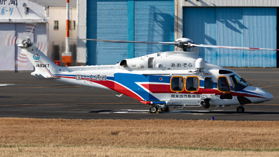 A picture of JA83KT - AgustaWestland AW139 - [31759] - © HAOFENG YU