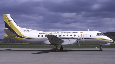 G-BSFI - Saab 340A - Birmingham Executive Airways