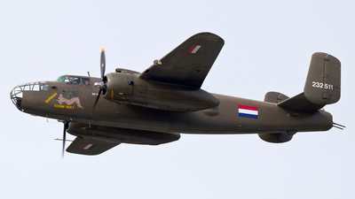 PH-XXV - North American B-25N Mitchell - Netherlands - Air Force Historical Flight