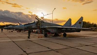 45 - Mikoyan-Gurevich MiG-29 Fulcrum - Belarus - Air Force