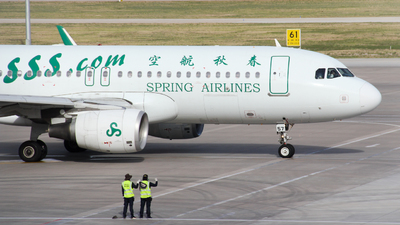 B-1657 - Airbus A320-214 - Spring Airlines