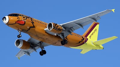 D-AKNO - Airbus A319-112 - Germanwings