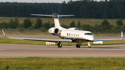 VP-BNF - Gulfstream G550 - Private