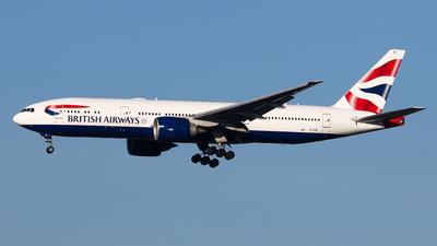 G-VIIB - Boeing 777-236(ER) - British Airways