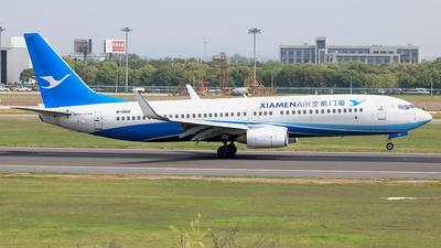 B-5601 - Boeing 737-86N - Xiamen Airlines