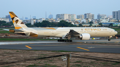A picture of A6ETG - Boeing 7773FX(ER) - Etihad Airways - © Quang_Minh_024