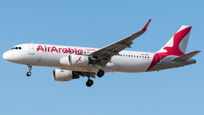 A6-AOF - Airbus A320-214 - Air Arabia