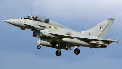 ZJ802 - Eurofighter Typhoon T.3 - United Kingdom - Royal Air Force (RAF)