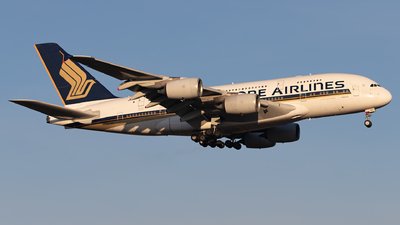 A picture of 9VSKH - Airbus A380841 - Singapore Airlines - © Arne P.