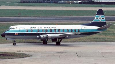 G-AZNC - Vickers Viscount 813 - British Midland