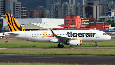 B-50001 - Airbus A320-232 - Tigerair