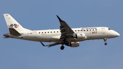 A picture of XTABZ - Embraer E175LR - Air Burkina - © Sander in West-Africa