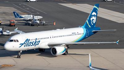 N838VA - Airbus A320-214 - Alaska Airlines