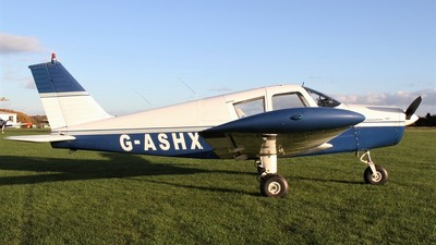 G-ASHX - Piper PA-28-180 Cherokee B - Private