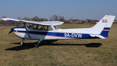 9A-DVW - Reims-Cessna F172N Skyhawk II - Private