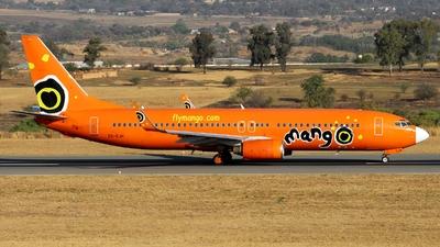 ZS-SJH - Boeing 737-8BG - Mango