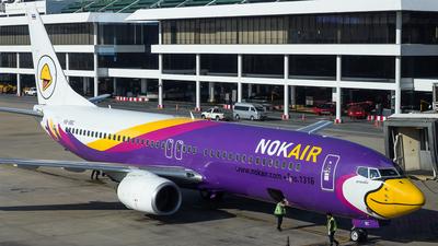 HS-DBC - Boeing 737-85P - Nok Air