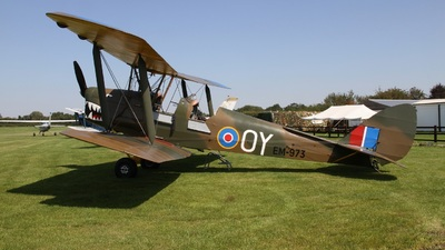 A picture of GALNA - De Havilland DH82 Tiger Moth - [85061] - © Ian Johnson