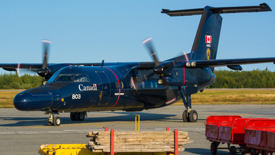 142803 - Bombardier CT-142 Dash 8 - Canada - Royal Air Force