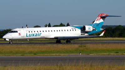S5-AAZ - Bombardier CRJ-701ER - Luxair - Luxembourg Airlines (Adria Airways)