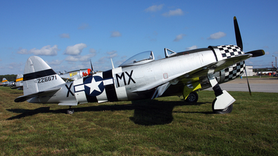 NX647D - Republic P-47D Thunderbolt - Private