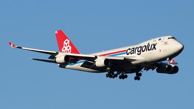 LX-UCV - Boeing 747-4R7F(SCD) - Cargolux Airlines International