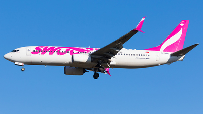 A picture of CFYBK - Boeing 7378CT - Swoop - © Martin Rogosz