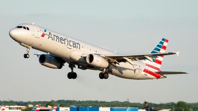 N912UY - Airbus A321-231 - American Airlines