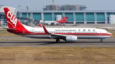 A picture of B1278 - Boeing 73789P - China United Airlines - © miCHAel TAN