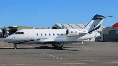 ZK-JCJ - Bombardier CL-600-2B16 Challenger 604 - Garden City Helicopters