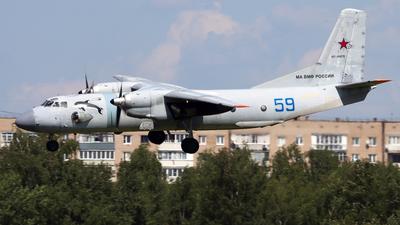 RF-46876 - Antonov An-26 - Russia - Navy