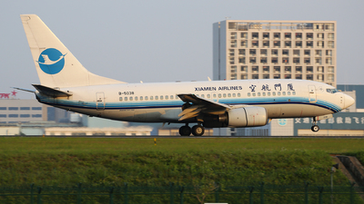 B-5038 - Boeing 737-7Q8 - Xiamen Airlines