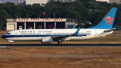 A picture of B1953 - Boeing 73781B - China Southern Airlines - © Danny-Long