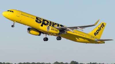 N663NK - Airbus A321-231 - Spirit Airlines