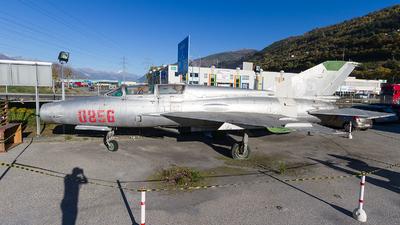 0856 - Mikoyan-Gurevich MiG-21UM Mongol B - Poland - Air Force