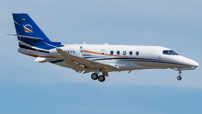 A picture of FHATV - Cessna 680A Citation Latitude -  - © J.Evrard-AirTeamImages