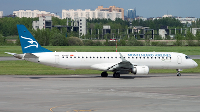 4O-AOC - Embraer 190-200LR - Montenegro Airlines