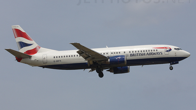G-GBTA - Boeing 737-436 - British Airways