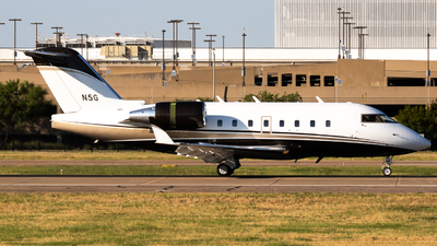 N5G - Bombardier CL-600-2B16 Challenger 604 - Private